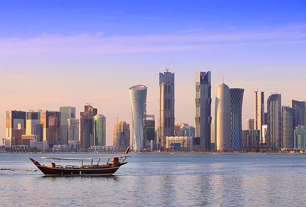 The New Doha Photograph by Paul Cowan
