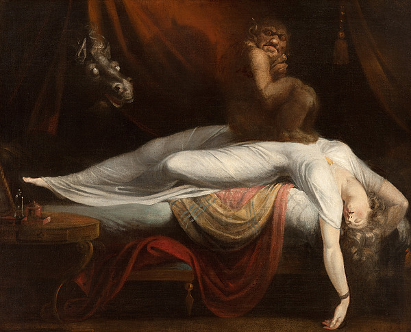 The Painting - The Nightmare by Henry Fuseli