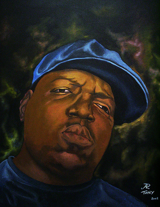 The Notorious Big Painting