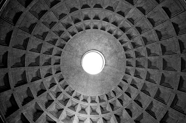 Oculus Photograph - The Oculus by Fabrizio Troiani