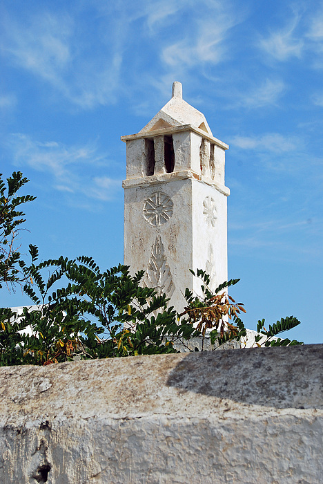 Mykonos Photograph - The Old Tower by Armand Hebert