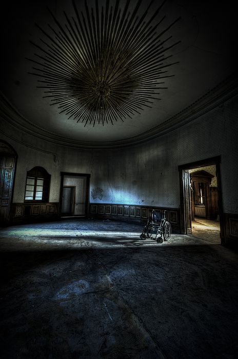 Abandon Photograph - The Oval Star Room by Nathan Wright