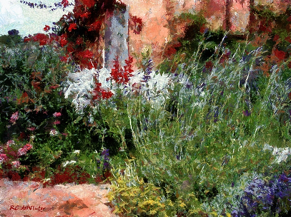 Brick Painting - The Passion Of Summer by RC DeWinter