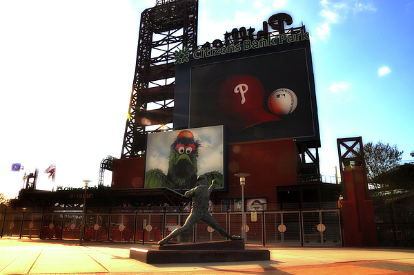 Sports Photograph - The Phillies - Steve Carlton by Bill Cannon
