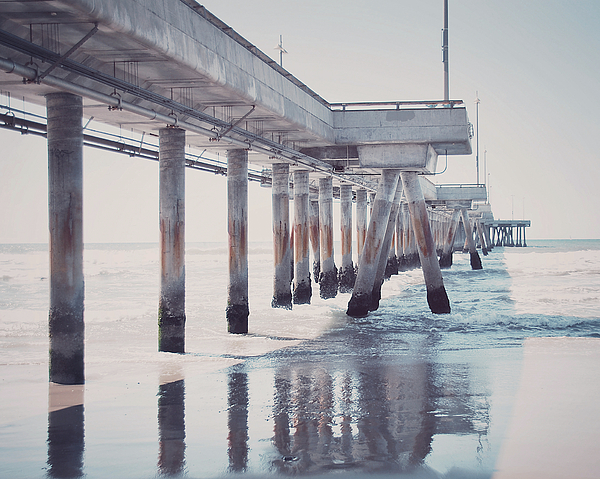 Photograph Photograph - The Pier by Nastasia Cook