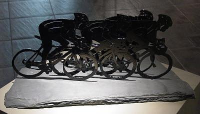 Race Sculpture - The Race Sold by Steve Mudge