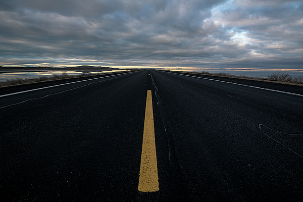 2017 Photograph - The Road by Justin Johnson