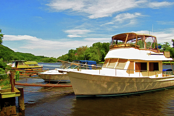 Rondout Creek Photograph - The Rondout At Eddyville by Nancy De Flon