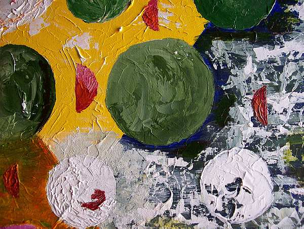 Abstract Painting - The Rotations by Roy Penny