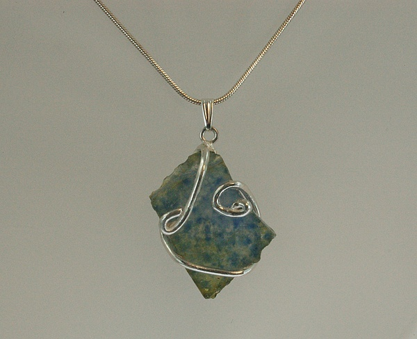 Sea Glass Jewelry - The Sea Encircled by DeLa Hayes Coward