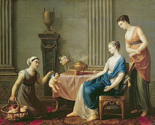 The Painting - The Seller Of Loves by Joseph Marie Vien