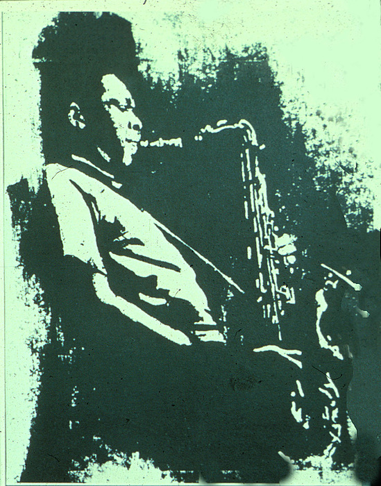 Jazz Mixed Media - The Session by Neal Smith-Willow