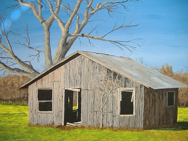 Barn Painting - The Shack by Norm Starks
