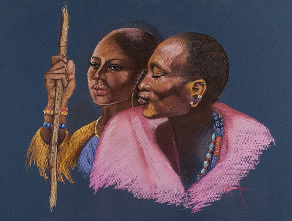 The Sheperds Painting by Pamela Mccabe