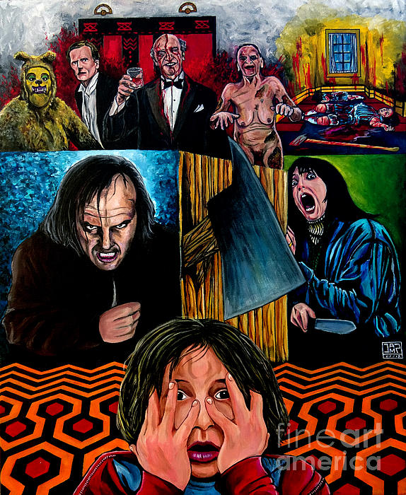 The Shining Painting - The Shining by Jose Mendez