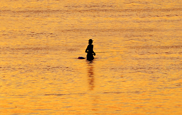 Fishing Photograph - The Son Of A Fisherman by David Lee Thompson