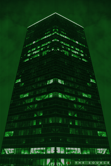 Matrix Photograph - The Source by Jonathan Ellis Keys