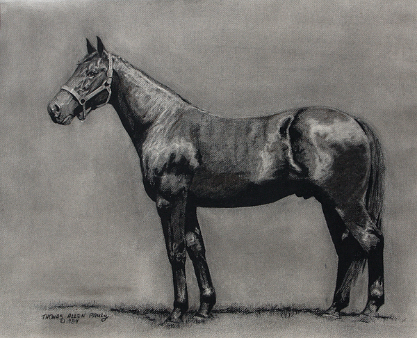 Derby Painting - The Standardbred by Thomas Allen Pauly