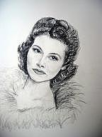 The Star Drawing - The Starlet by Marijeanne Davila