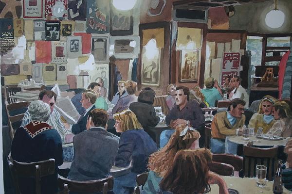 The Tavern Painting by Joe Jaqua