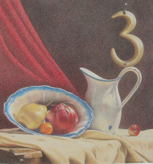 Still Life Painting - The Third Element by Bonnie Haversat