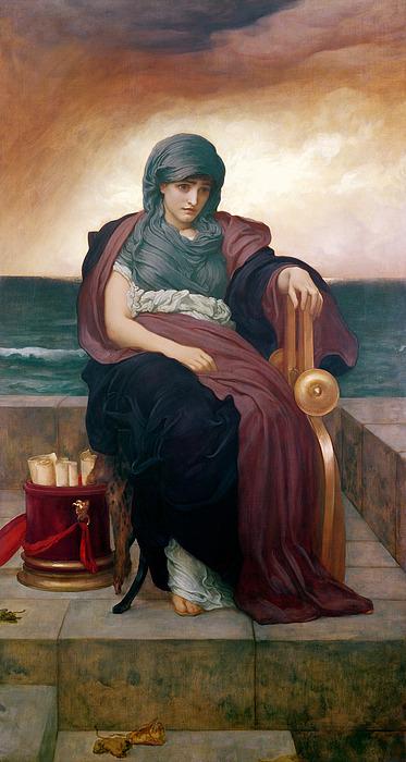 Tragic Painting - The Tragic Poetess by Frederic Leighton