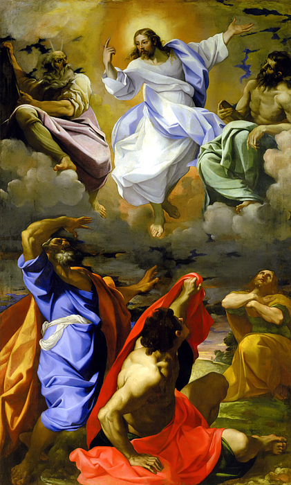 The Transfiguration Of Our Lord Painting by Lodovico Carracci
