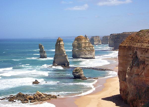 Australia Photograph - The Twelve Apostles by Eena Bo