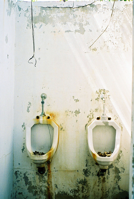 Bathroom Photograph - The Twins by Agustin Fas