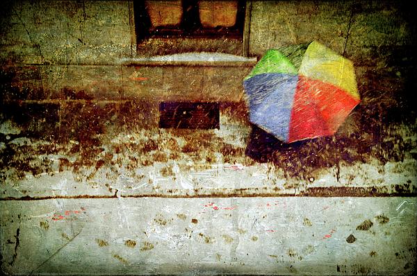 Umbrella Photograph - The Umbrella by Silvia Ganora