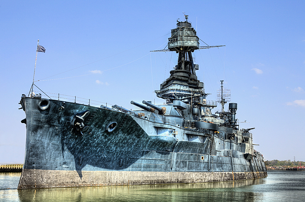 Battleship Photograph - The U.s.s. Texas by JC Findley