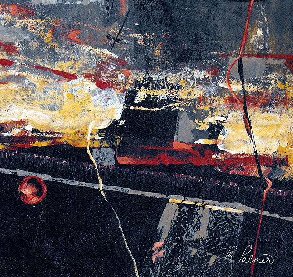 Abstract Painting - The View by Ruth Palmer
