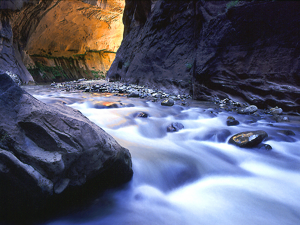 Rivers Photograph - The Virgin Narrows by Dean Uhlinger