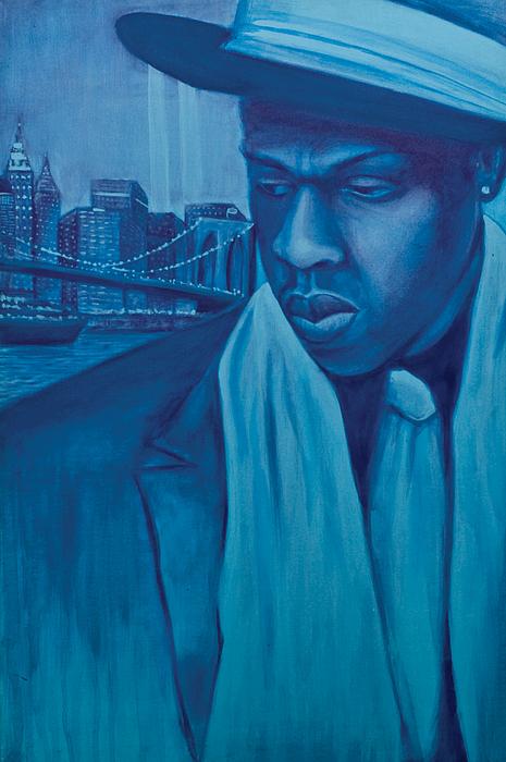 Jayz Painting - The Watcher by Derek Donnelly