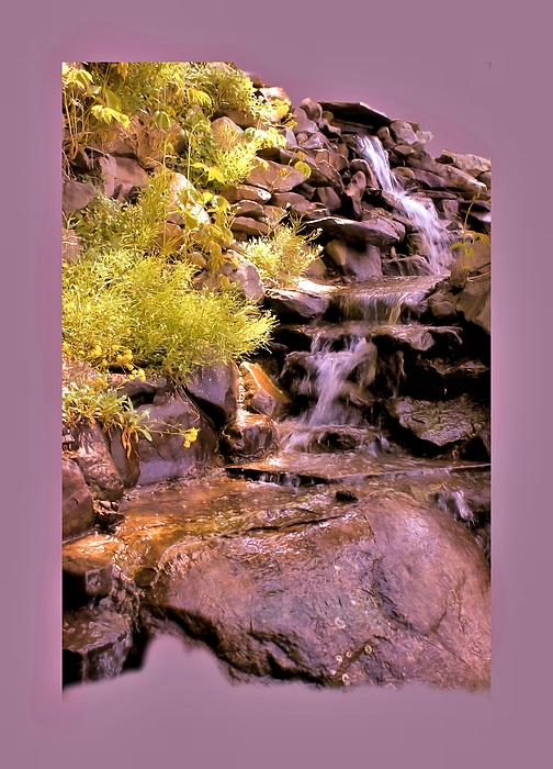 Wall Decor Photograph - The Water Falls by Myrna Migala