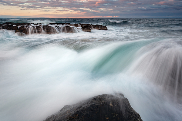 Sea Photograph - The Wave by Evgeni Dinev