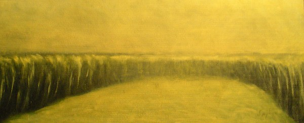 Landscape Painting - The Weeds by Jaylynn Johnson