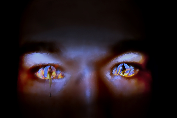 Eyes Digital Art - The Window by Anthony Flores