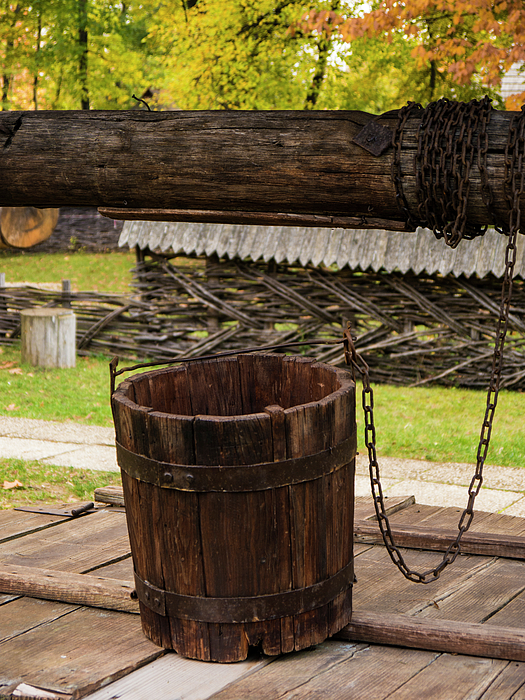 Romania Photograph - The Wooden Bucket by Rae Tucker