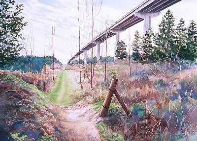 The World Below Painting by Sydney MCKenna