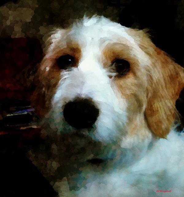 Dog Digital Art - Their Dog by Margaret Wingstedt