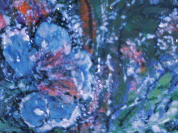 Blue Painting - There Is Nothing Wrong With Having The Blues by Anne-Elizabeth Whiteway
