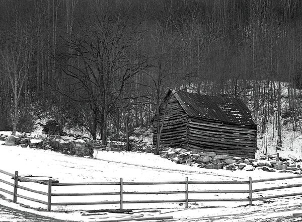 Black And White Photography Photograph - Theres A Draft In Here by David Waldrop