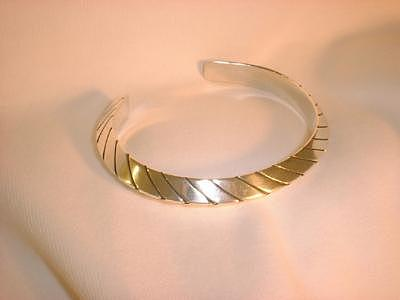 Sterling Silver Bracelet Jewelry - This Heavy Gauge Triangular Silver Bracelet Is Offered In Three Sizes by Eddie Romero