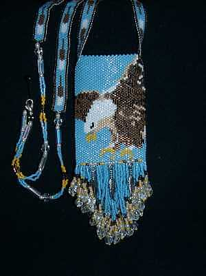 This Is A American Eagle Amulet Bag Jewelry by Mary Miller