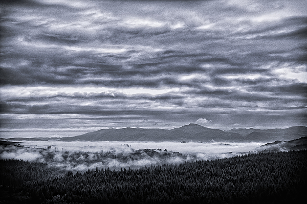 Cannon Beach Photograph - This Is Oregon State No.22 - Above The Clouds by Paul W Sharpe Aka Wizard of Wonders