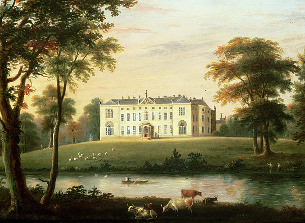 Thorp Painting - Thorp Perrow Near Snape In Yorkshire by English School