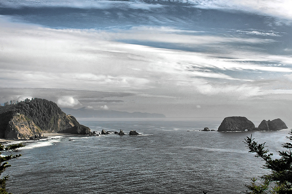 National Wildlife Refuge Photograph - Three Arch Rocks National Wildlife Refuge Near Cape Meares Oregon by Christine Till