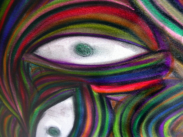 Original Painting - Through Others Eyes by Dawn Hough Sebaugh