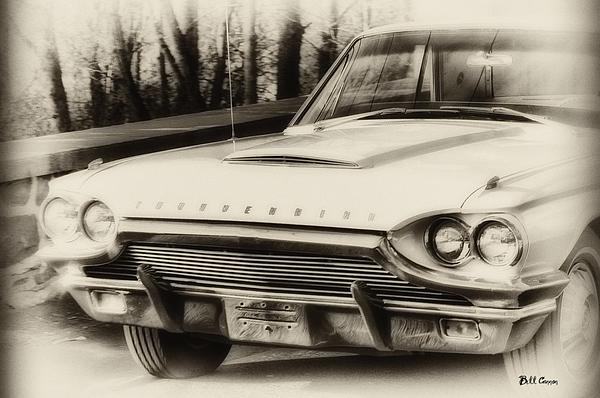 1964 Photograph - Thunderbird Dreams by Bill Cannon